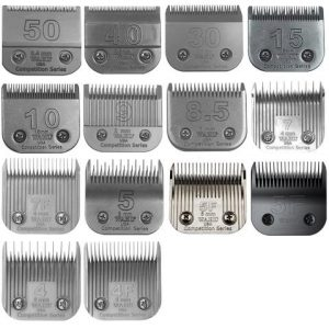 types of clipper blades